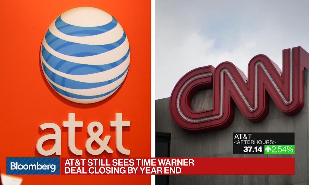 Justice Department Sues to Block AT&T-Time Warner Merger