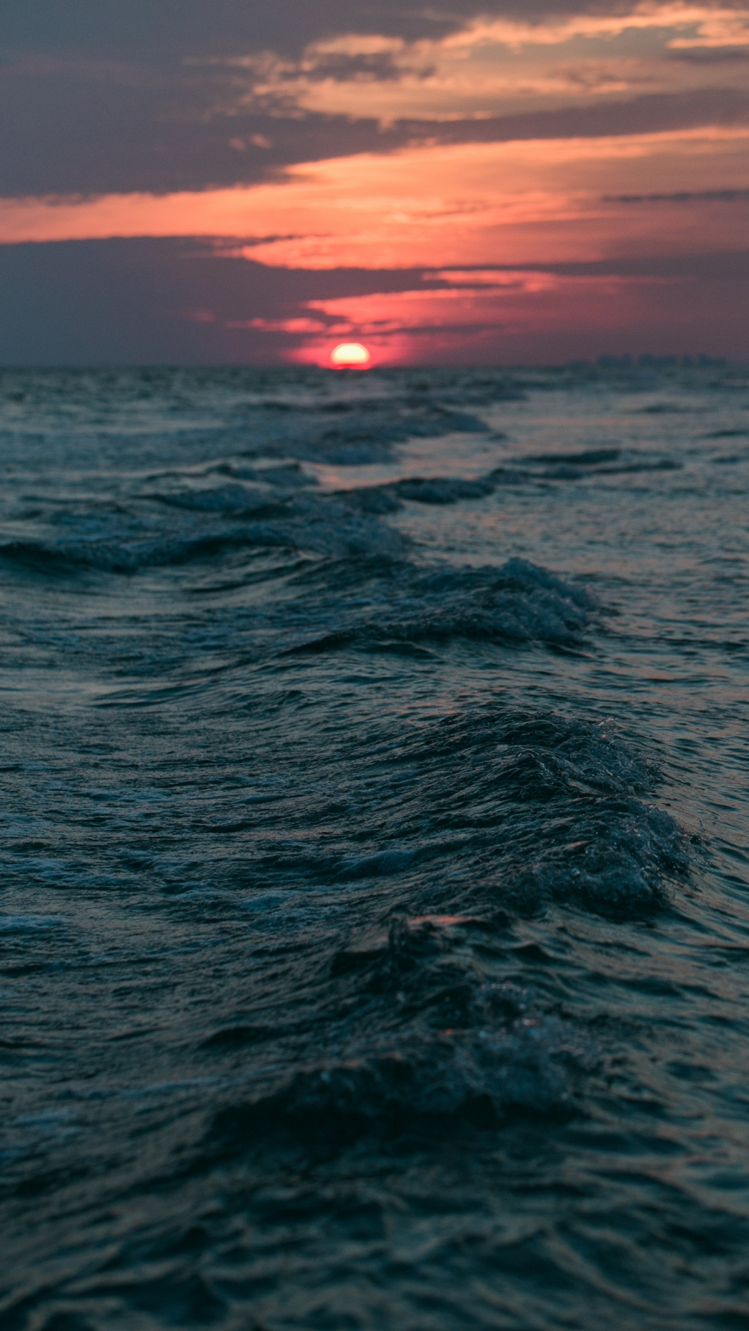 sunset, ocean, beach iphone wallpaper - idrop news