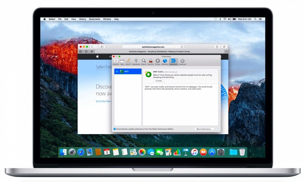 How to Install and Uninstall WOT for Safari on Mac