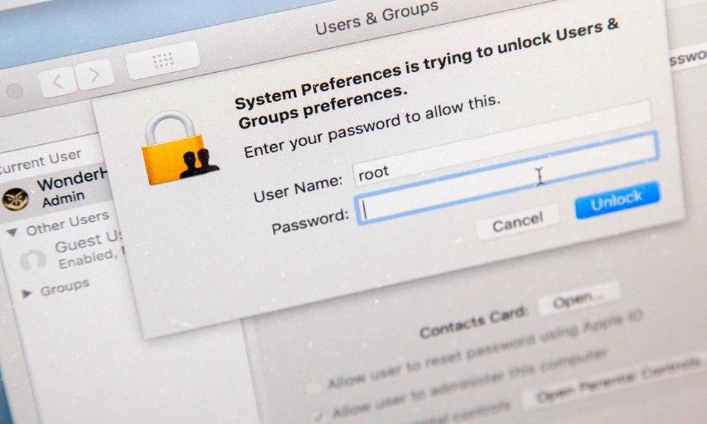 How to Fix: macOS High Sierra Flaw Allows Admin Access Without Password