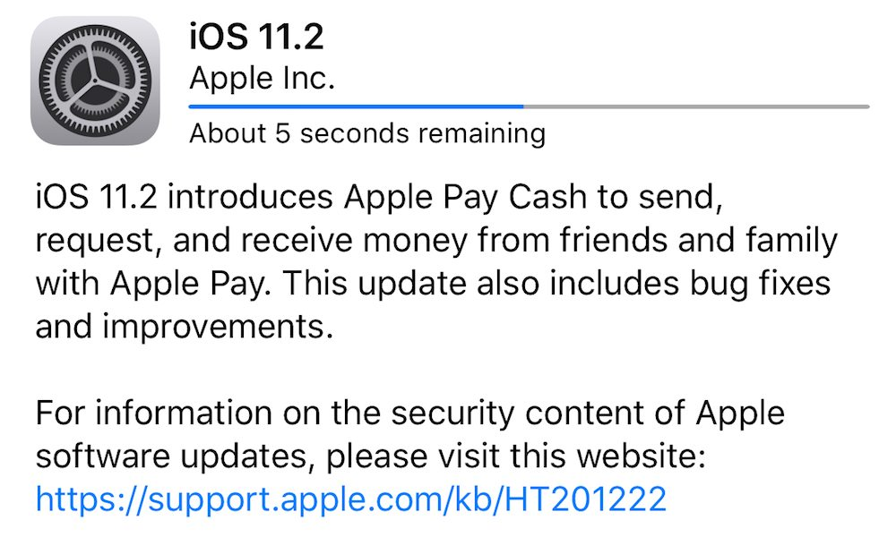 Apple Pay Cash is on a slow rollout for iOS 11.2