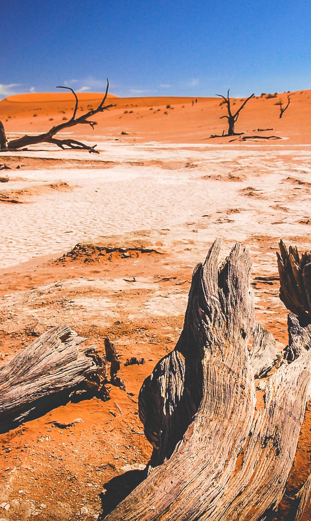 Sossusvlei Dunes iPhone Wallpaper