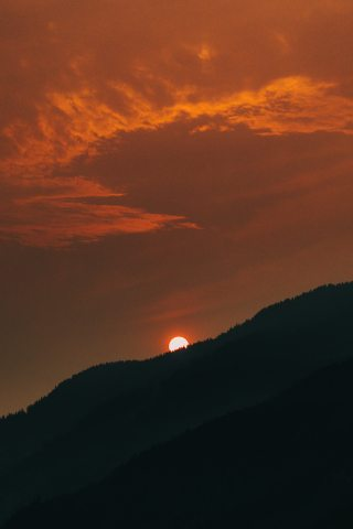Sunset-Sun-Orange-iPhone-Wallpaper