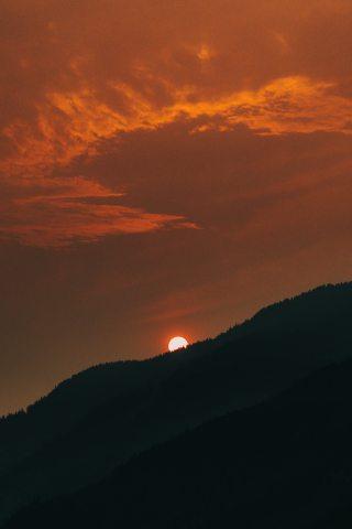 Sunset-Sun-Orange-iPhone-Wallpaper