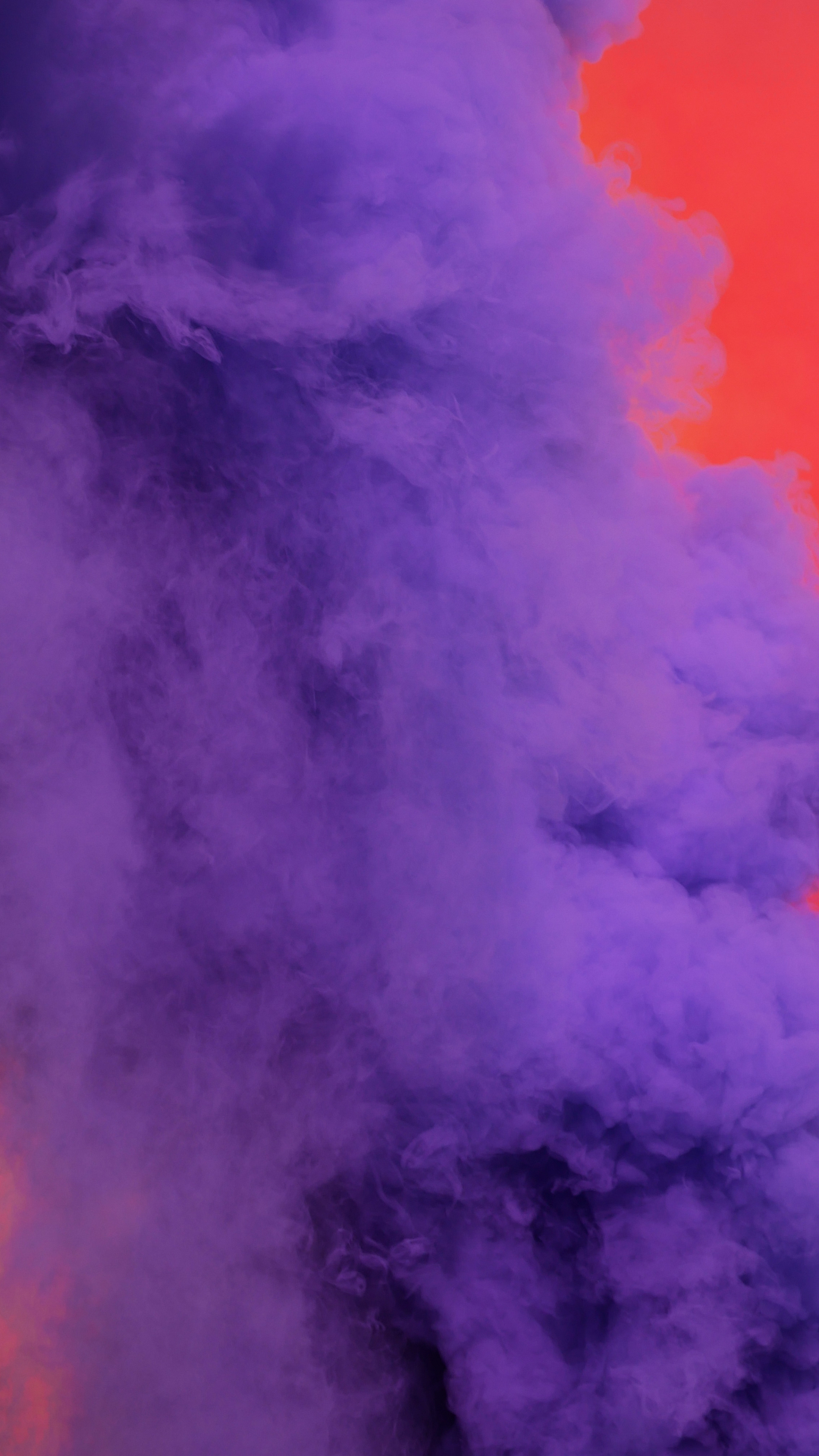 Red And Purple Smoke iPhone Wallpaper