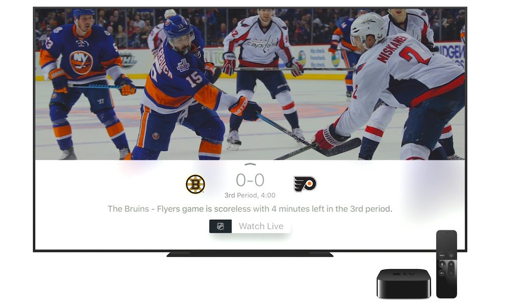 Apple Releases tvOS 11.2 with New Sports Tab, 'Match Content' Feature