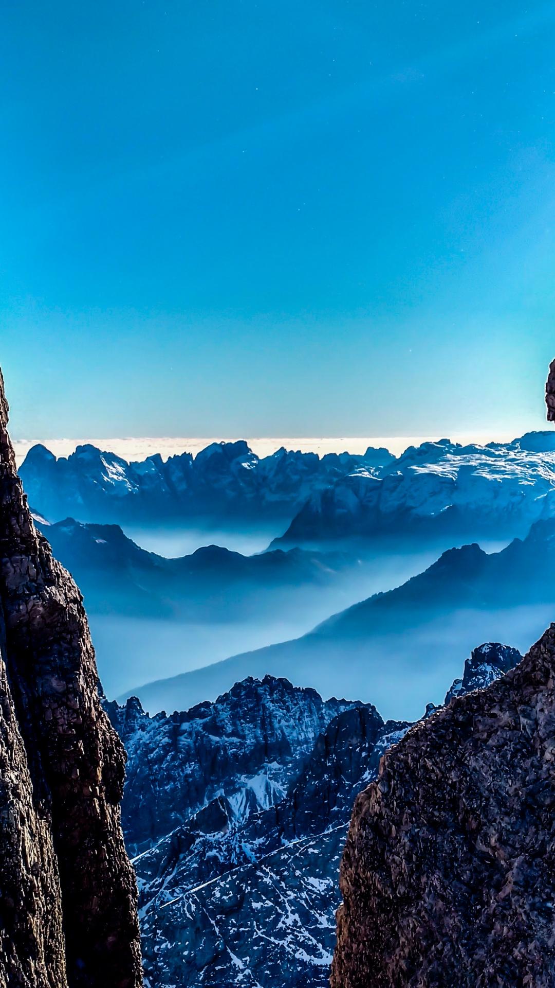 Mountain, Canyon, Cliff iPhone Wallpaper
