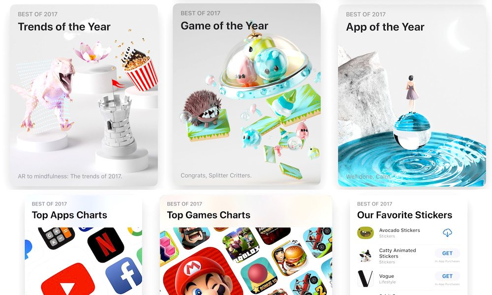 Apple Announces Best iOS Apps and Games of 2017