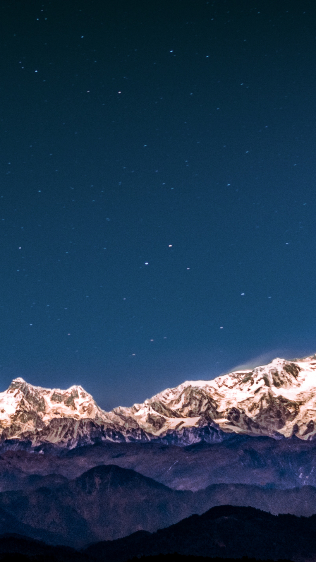 Kanchenjunga Sout iPhone Wallpaper
