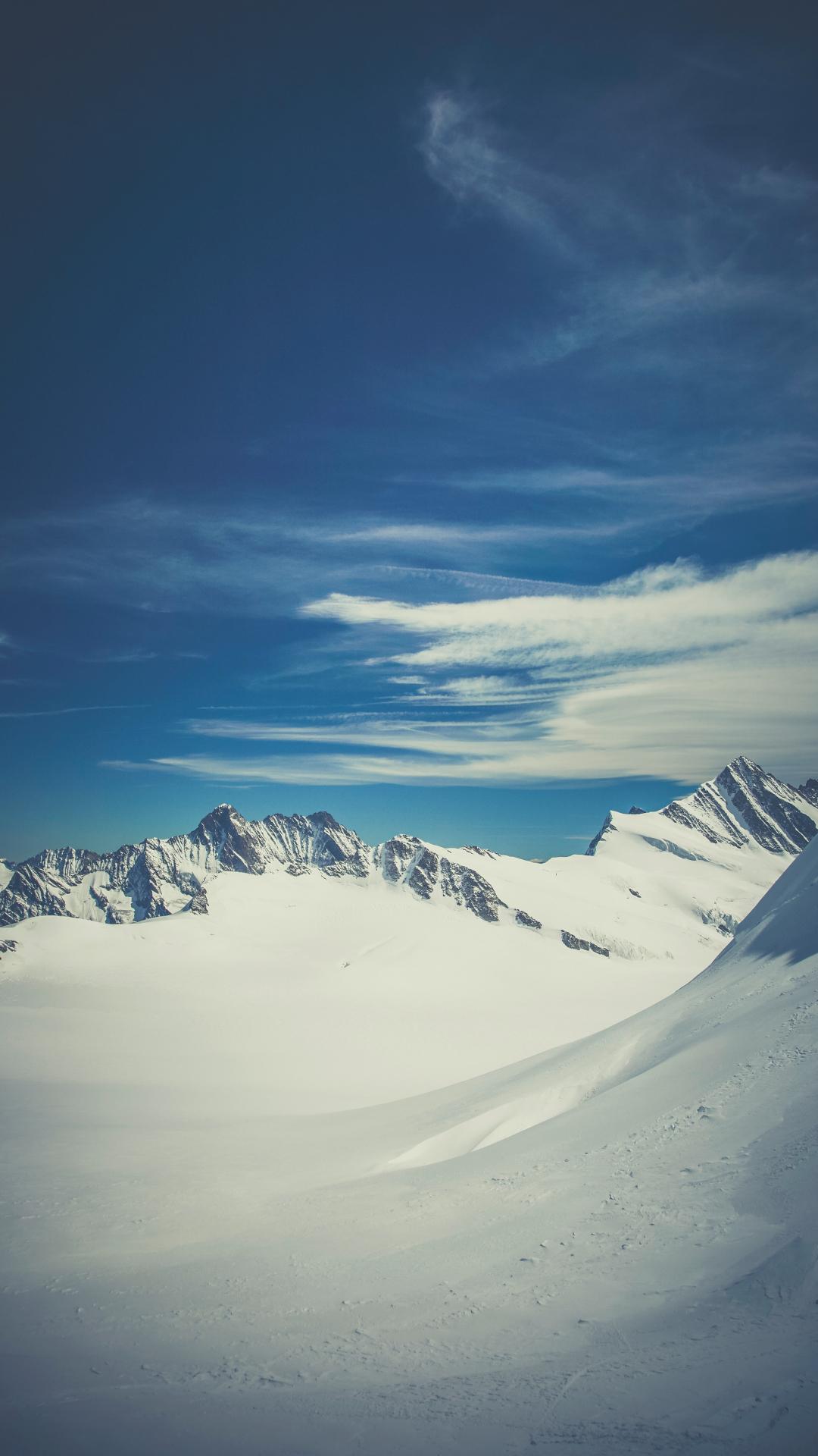 Snowy Swiss iPhone Wallpaper