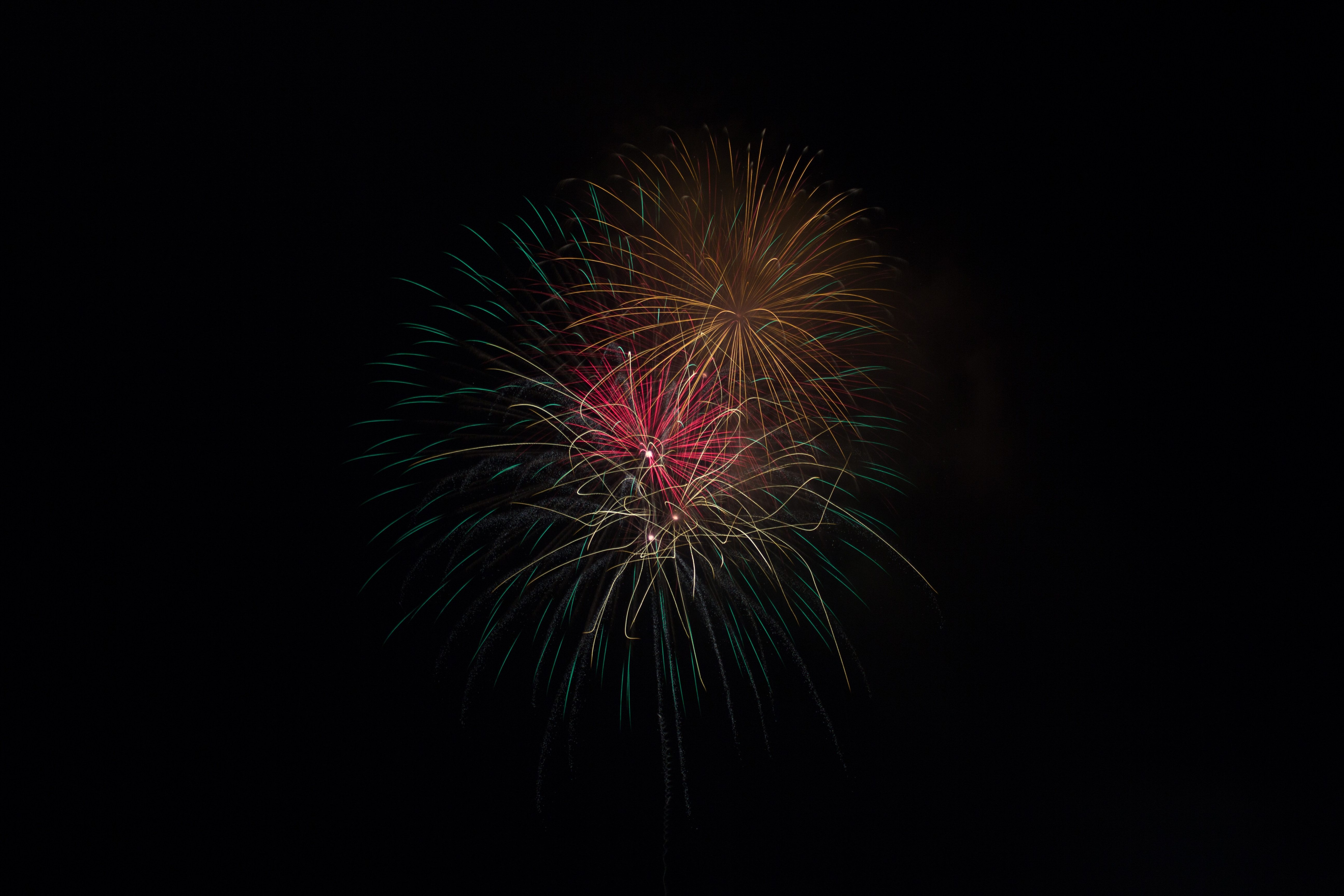Firework Color Dark Iphone Wallpaper Idrop News