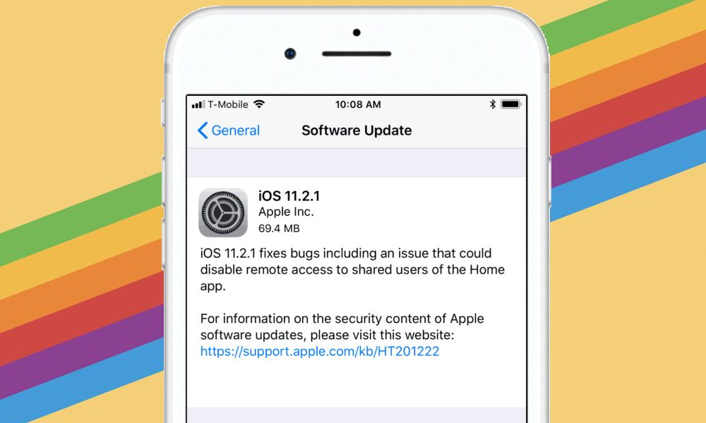 Apple Releases iOS 11.2.1 with Fix for Critical HomeKit Vulnerability