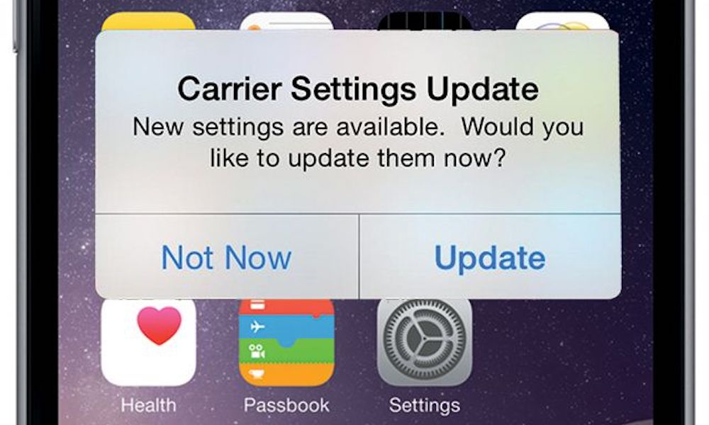 Carrier-Settings