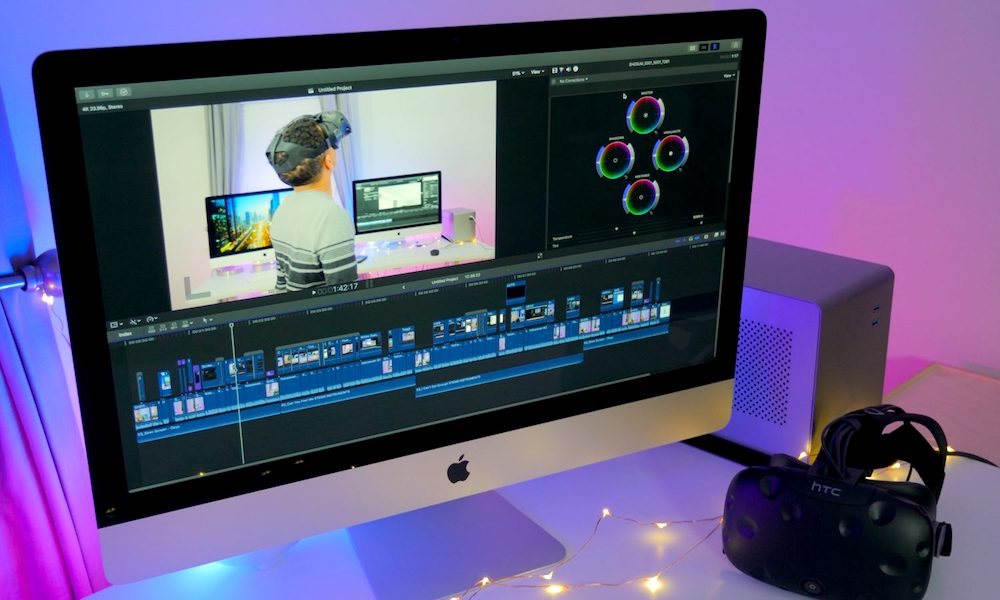 Apple Releases Final Cut Pro X 10.4 with 360-Degree VR Video Editing