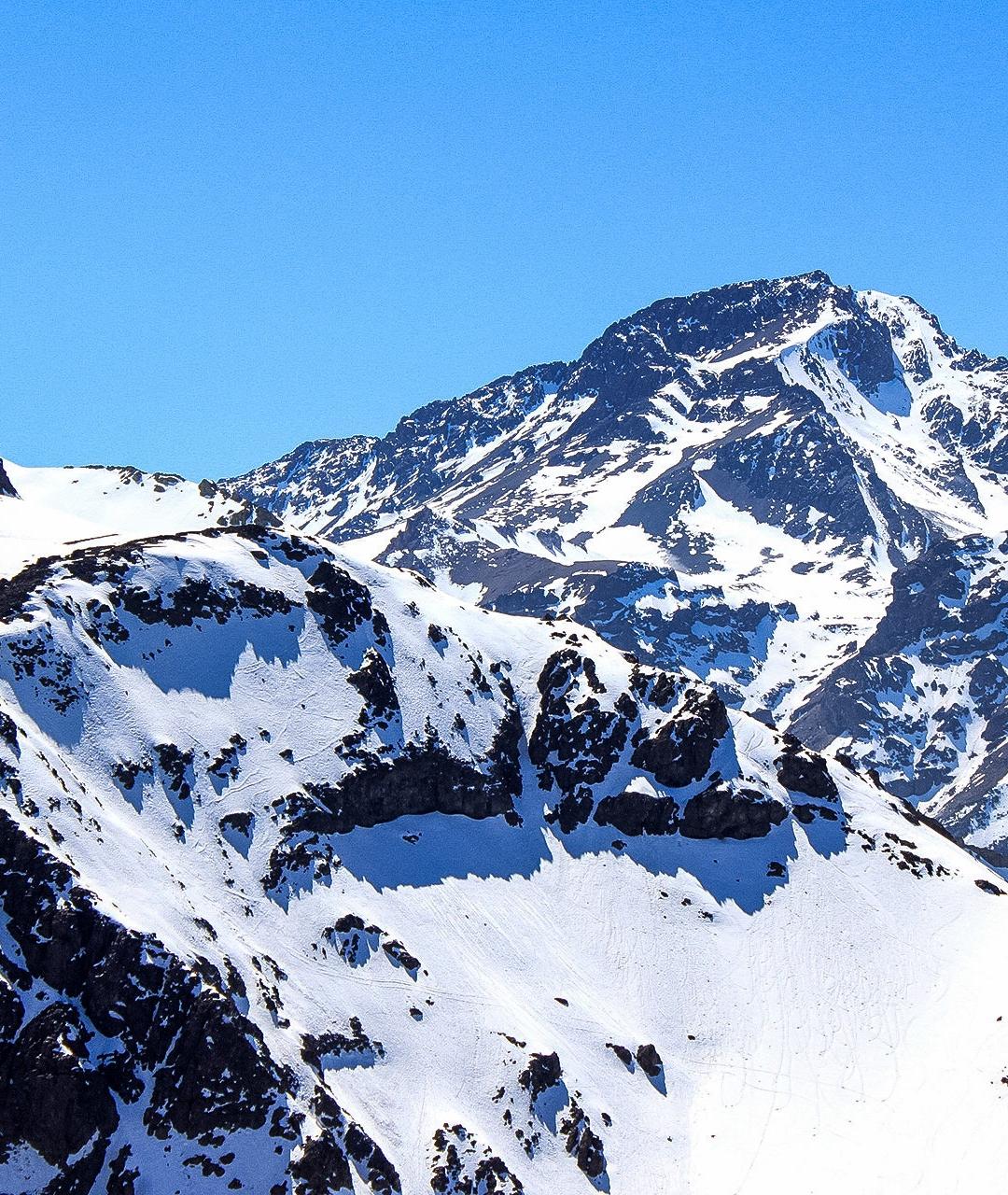 Snowcap Mountains iPhone Wallpaper