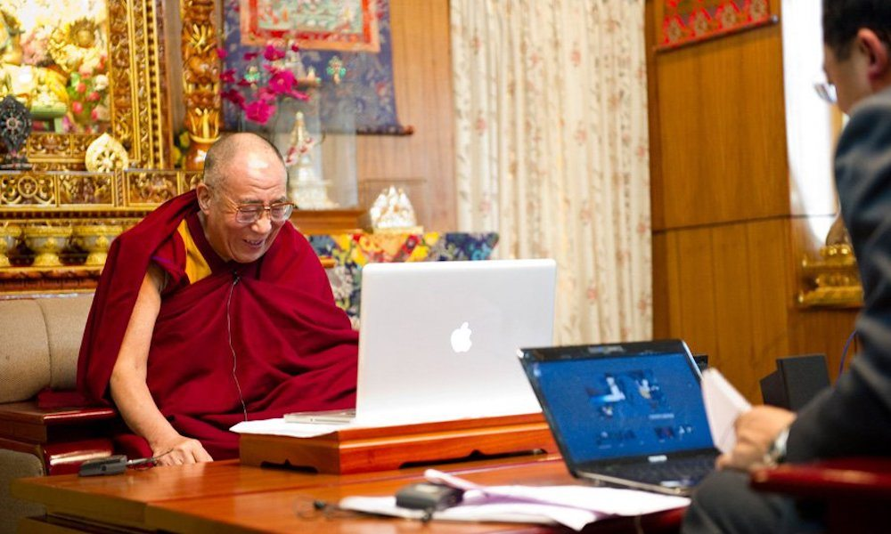 The Dalai Lama Just Launched a Free iOS App