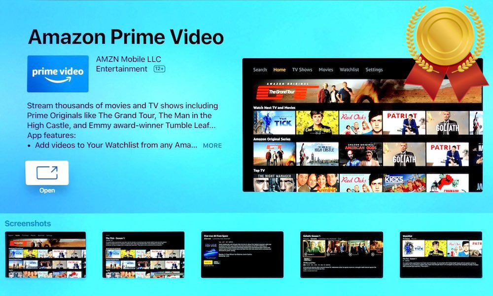 Amazon Prime Video Has Record Breaking First Week on Apple TV