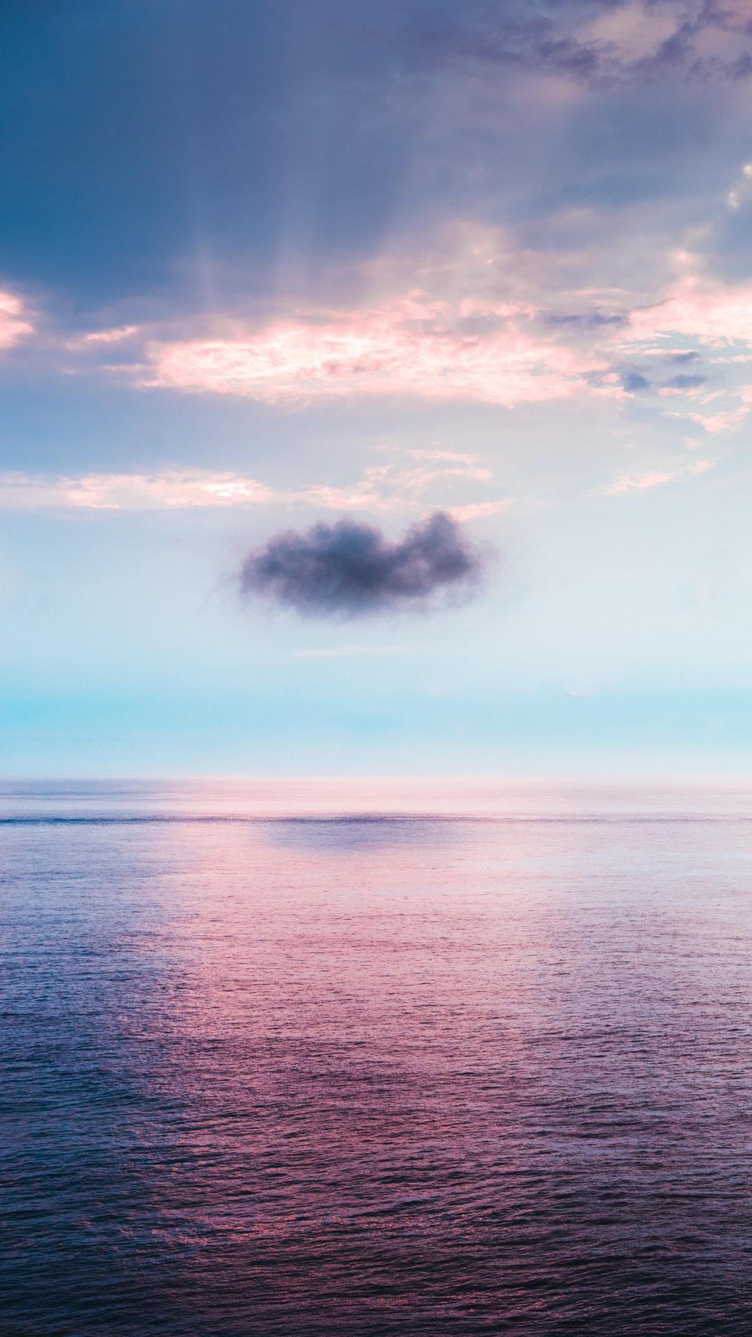 Melancholy Cloud iPhone Wallpaper