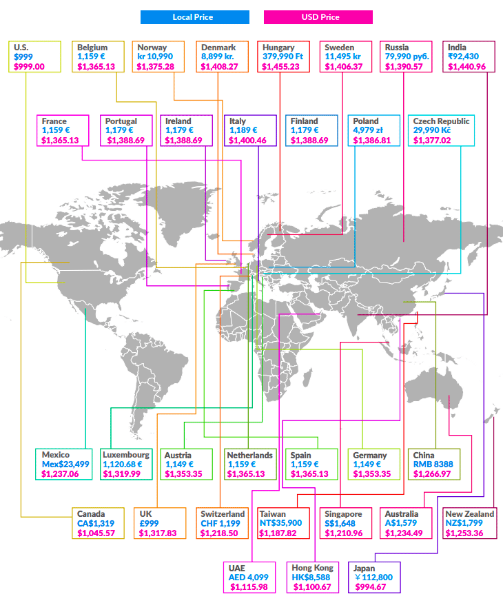 iphone_x_costs_around_the_world_map