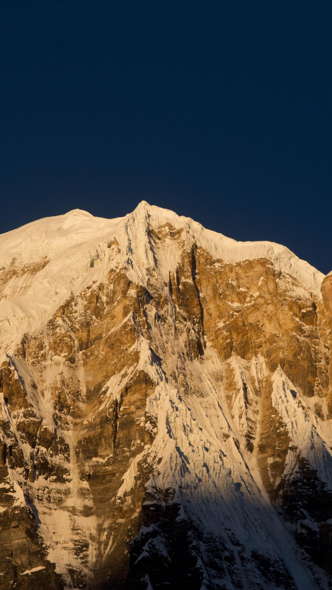 Mount Annipurna iPhone Wallpaper