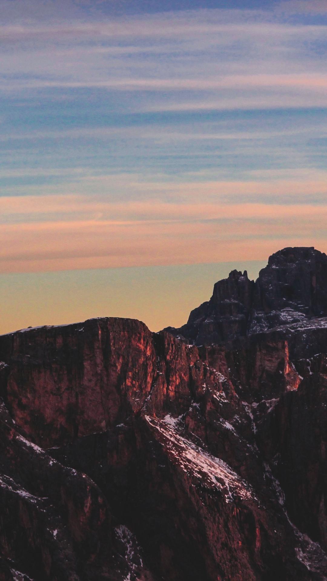 Seceda Mountains iPhone Wallpaper