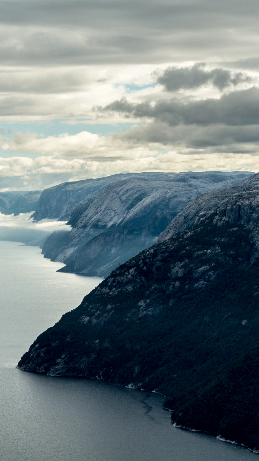 Mountain, Cloud,iPhone Wallpaper