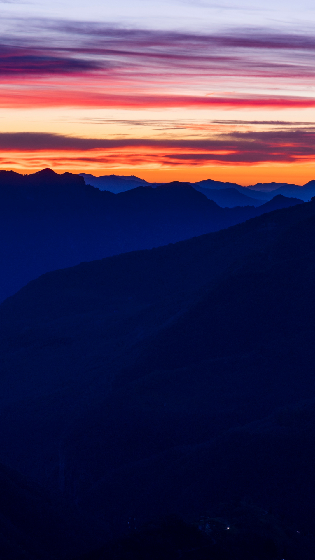 Sunrise And Cloud iPhone Wallpaper