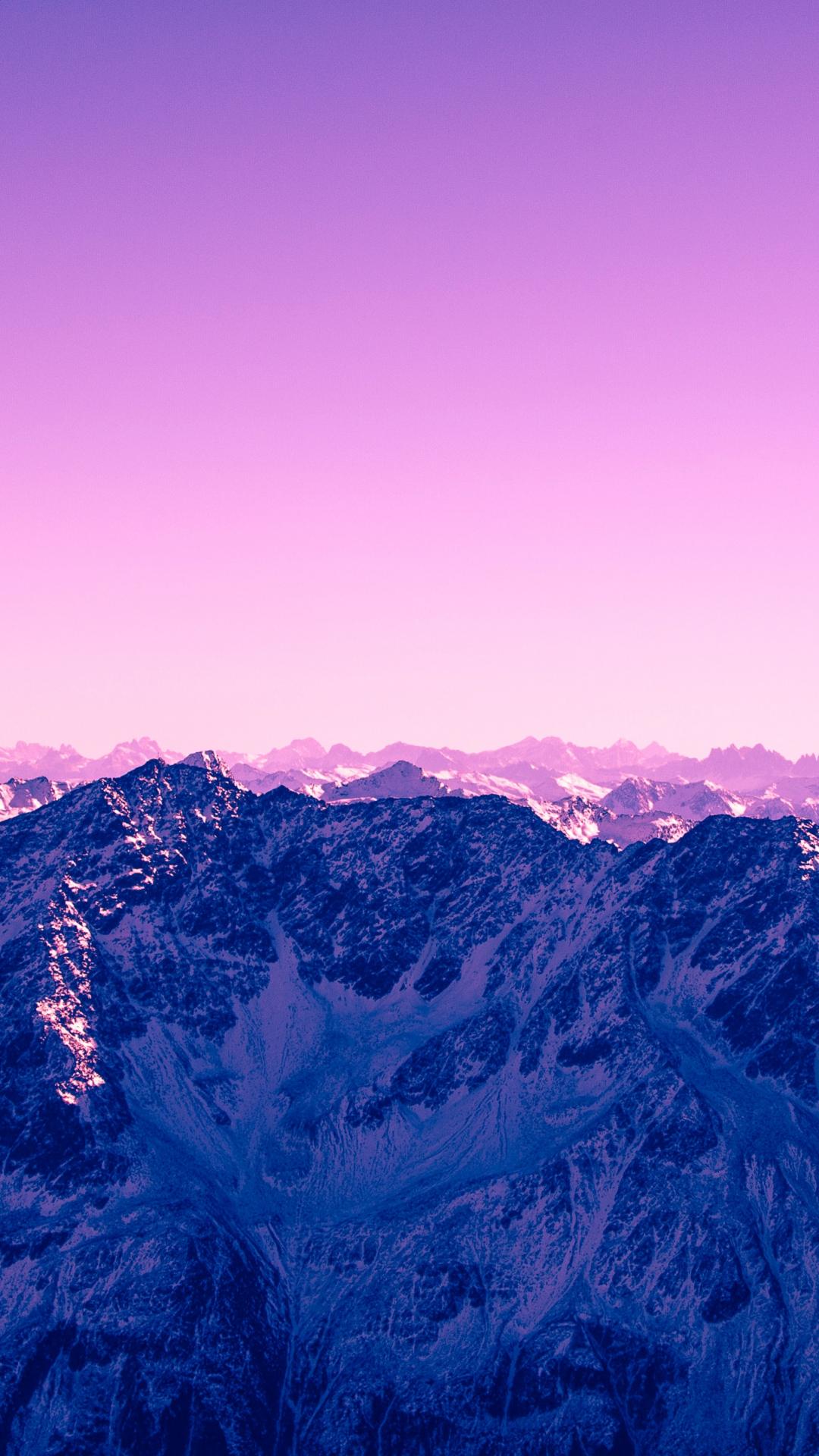 Pink Sky iPhone Wallpaper