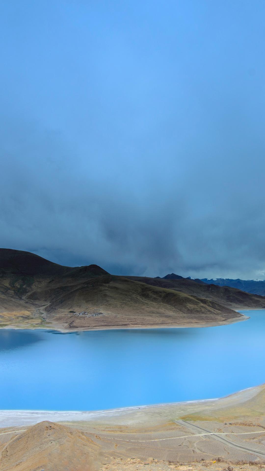 Cloud, Sky, Water iPhone Wallpaper