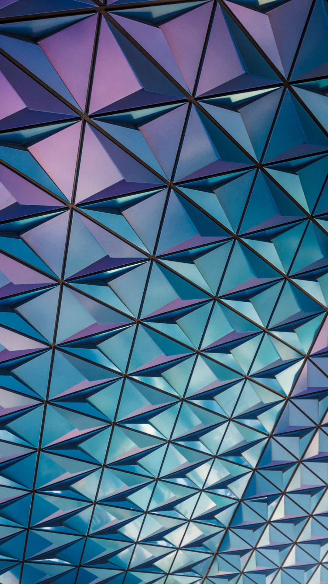 Purple Mosaic iPhone Wallpaper