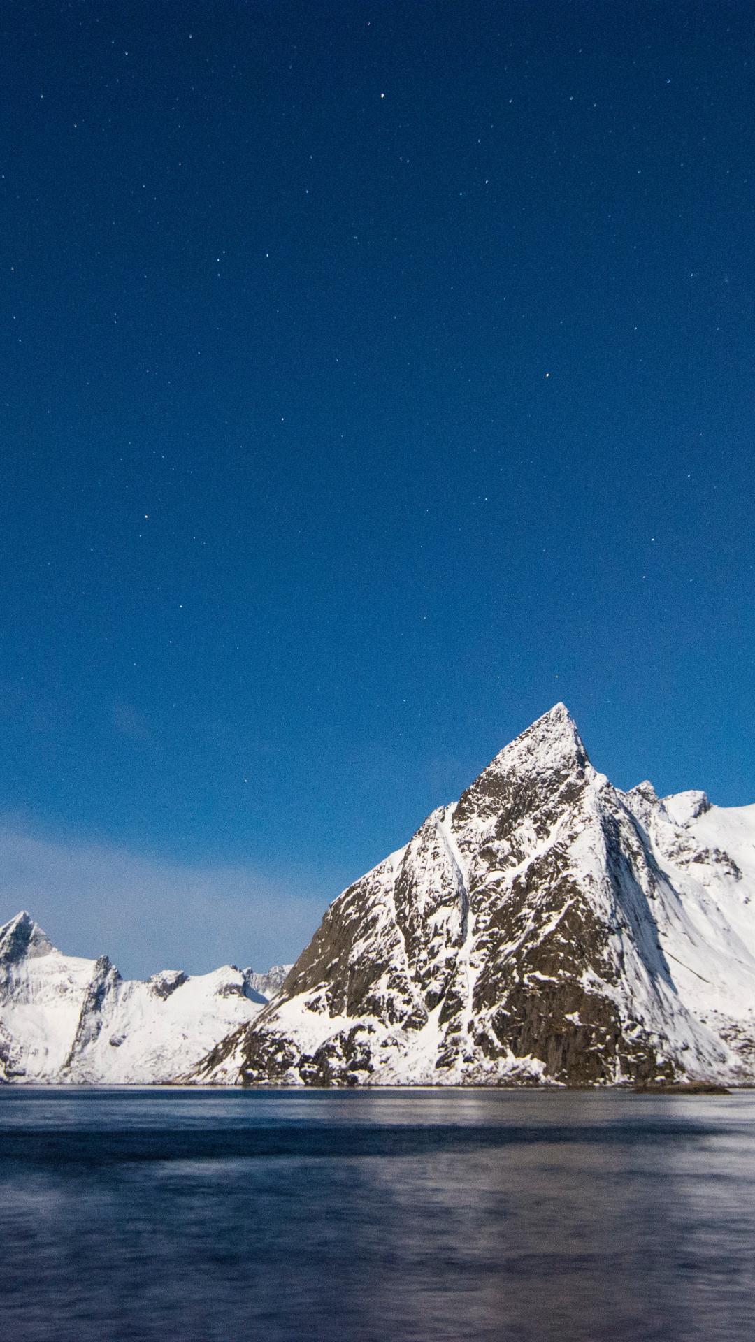 Mountain, Snow iPhone Wallpaper