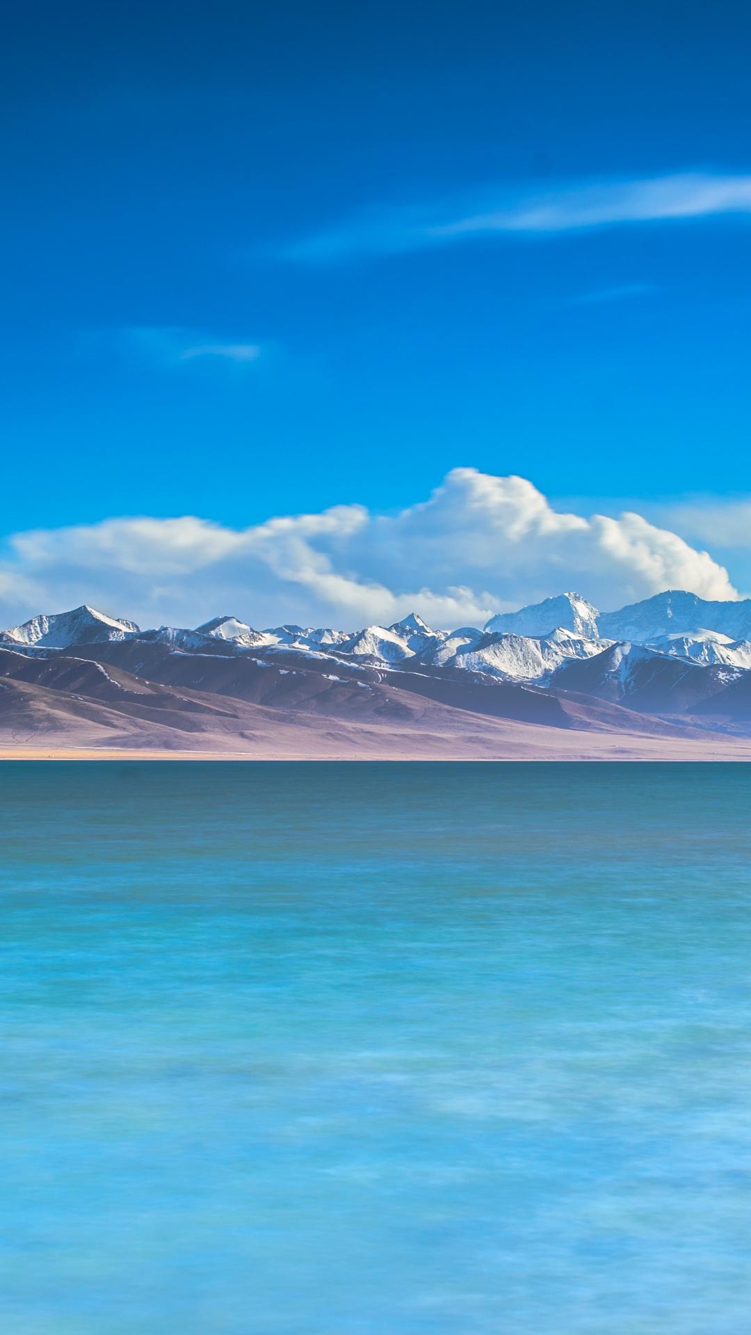 Sky And Ocean HD iPhone Wallpaper
