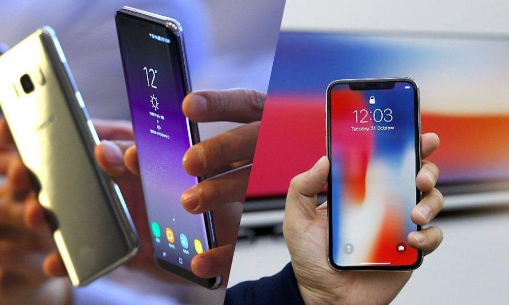 iphone-X-Samsung