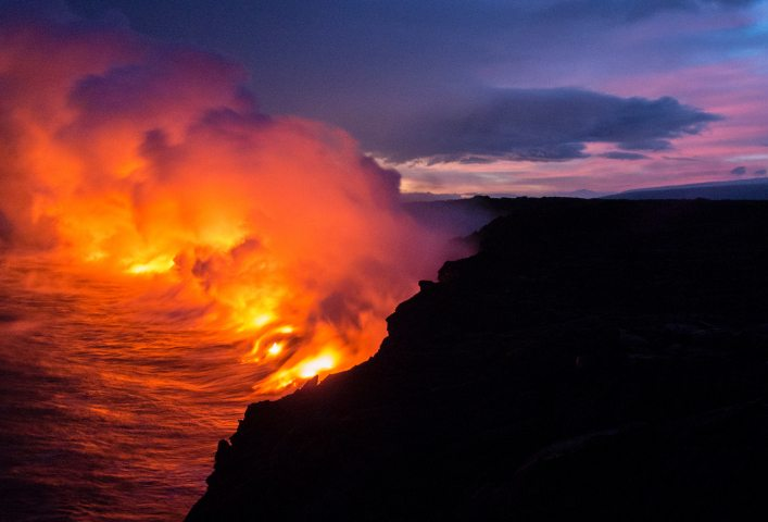 Lava-Meeting-The-Ocean-iPhone-Wallpaper