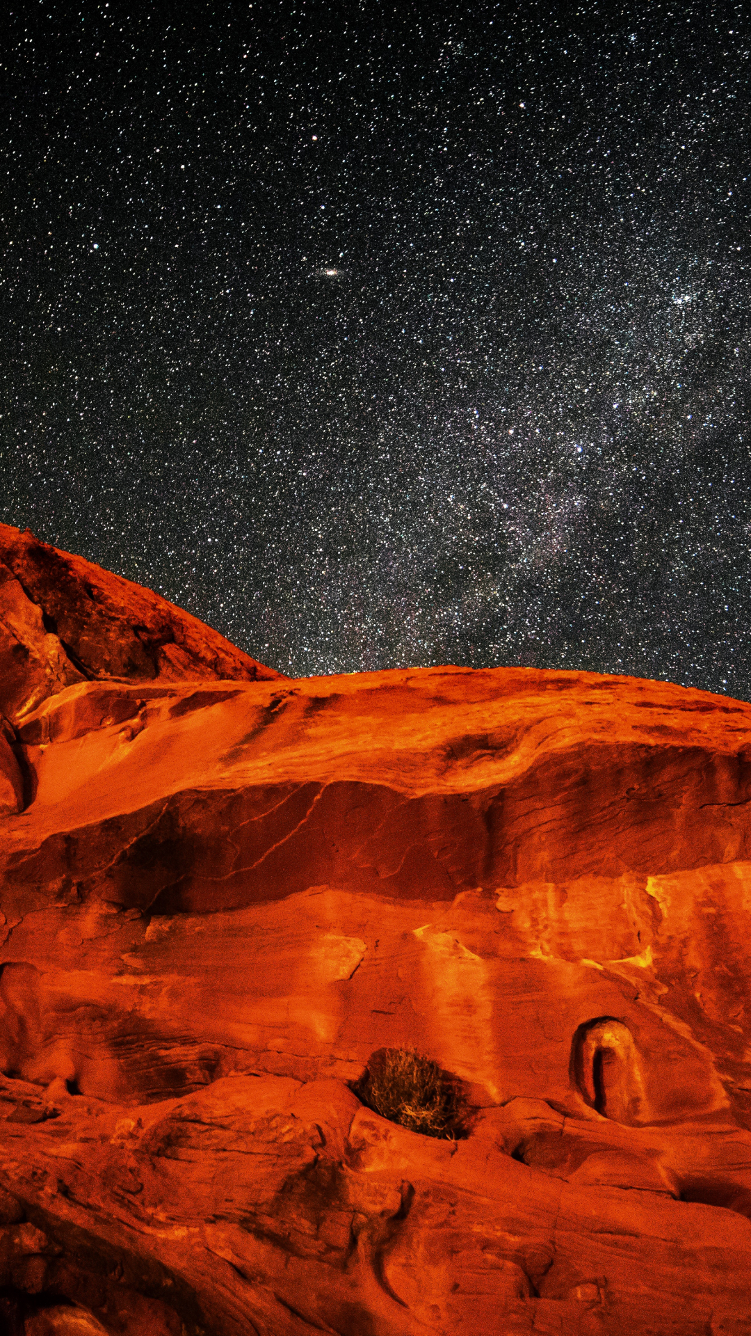 Valley of Fire iPhone Wallpaper