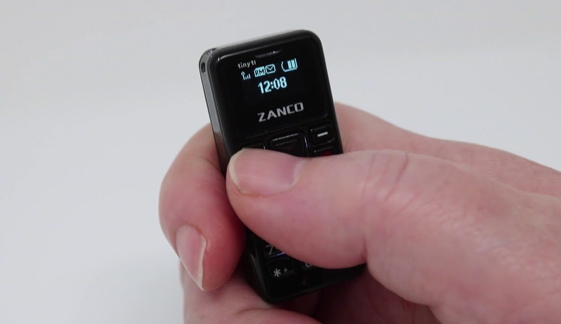 The Zanco Tiny T1 Is the Smallest Phone in the World