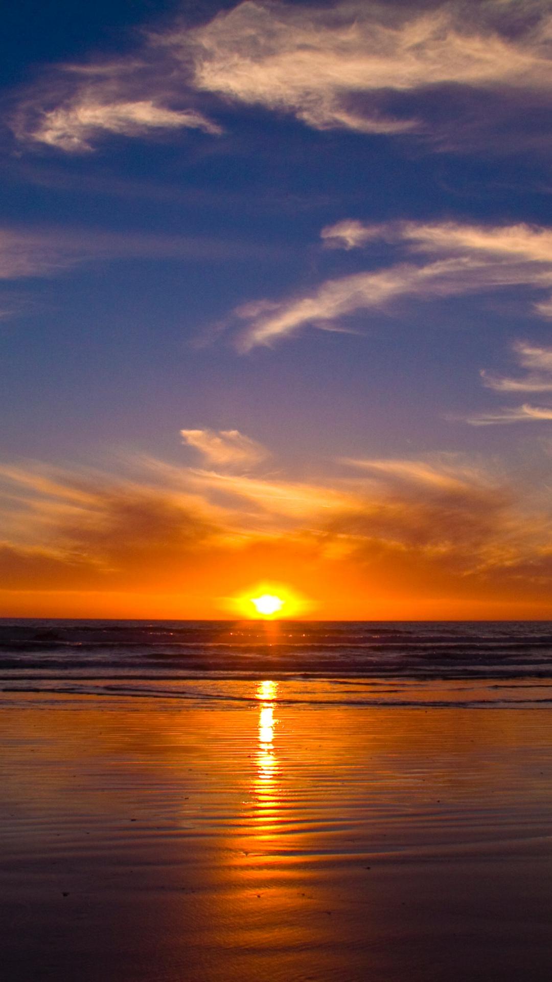 Cape Town Sunset iPhone Wallpaper