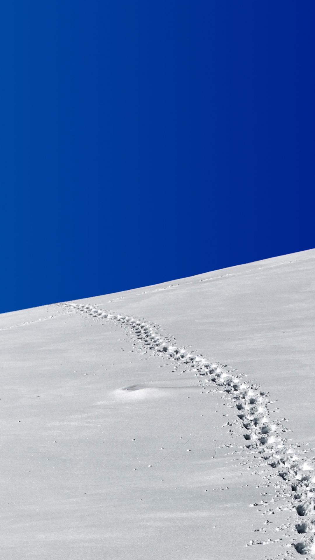 Winter Minimalism iPhone Wallpaper