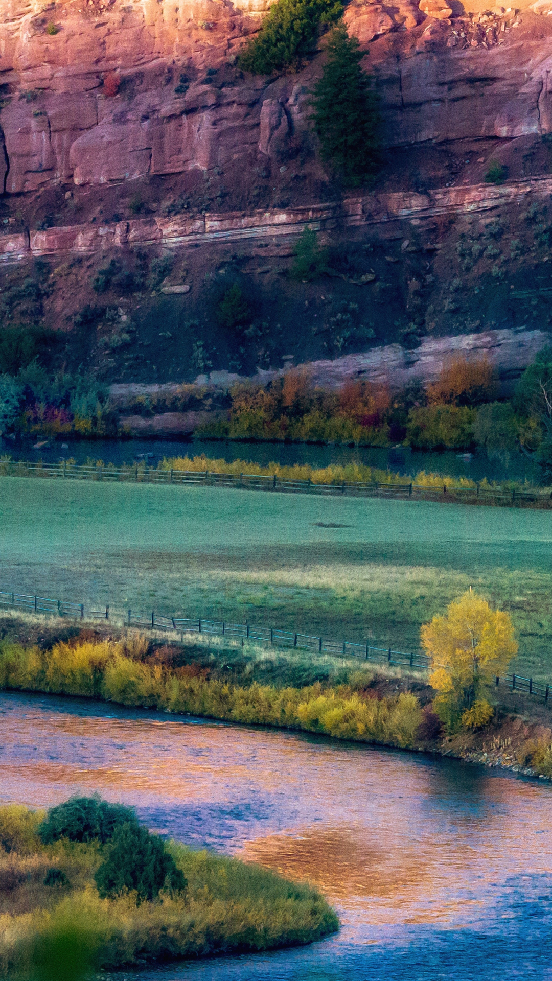 Autumn Sunrise iPhone Wallpaper