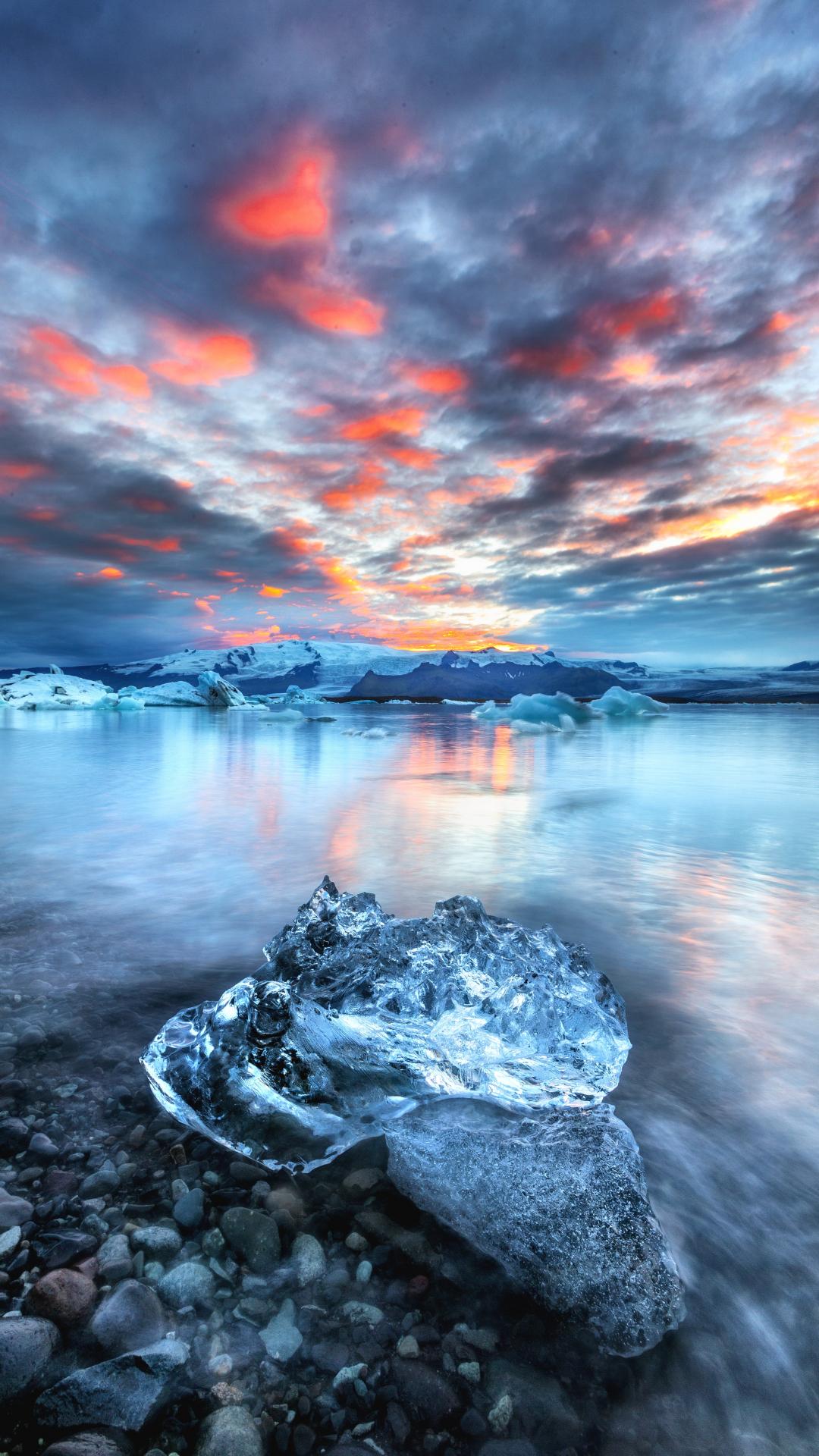 Iceberg iPhone Wallpaper