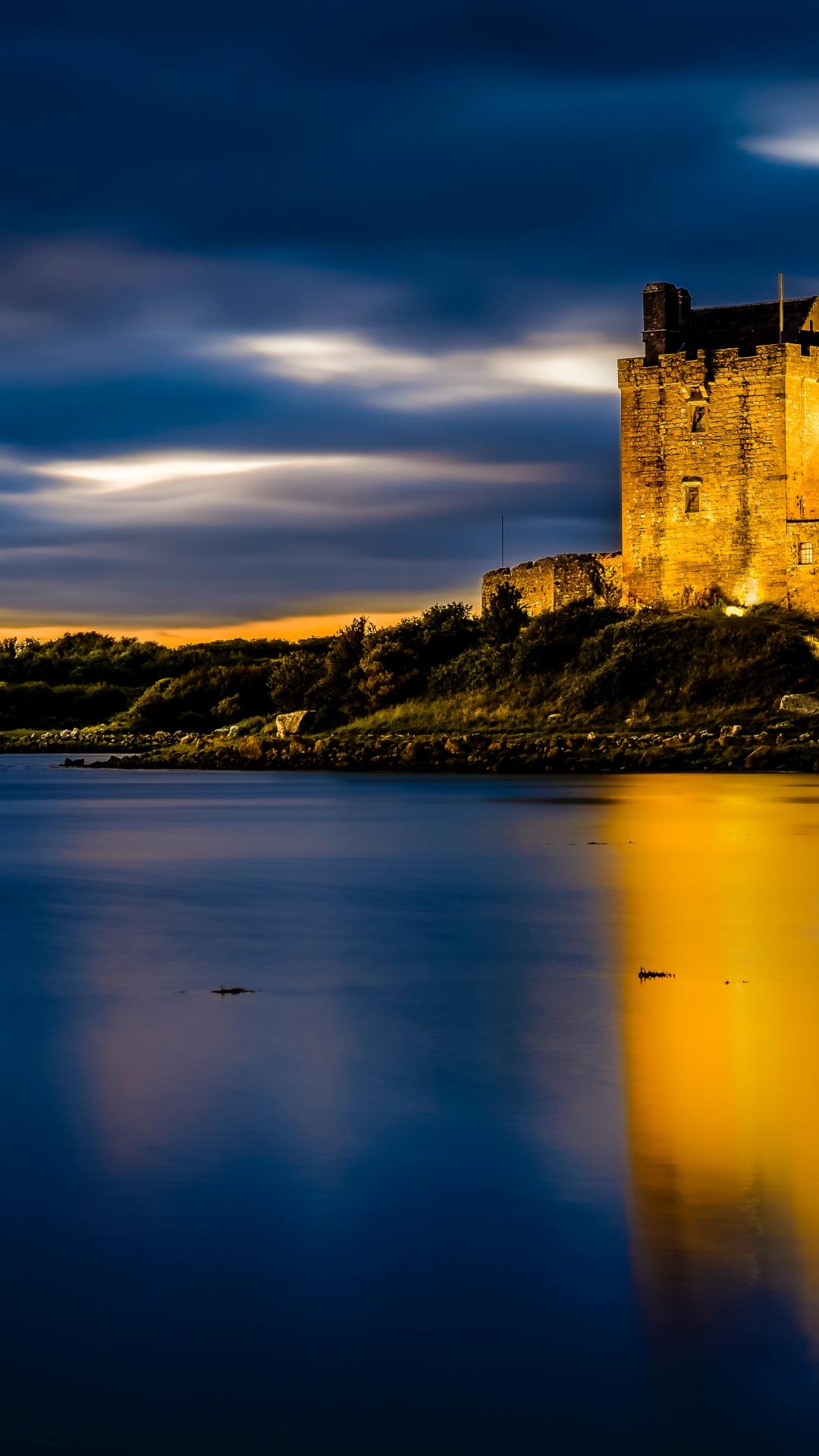 Dunguaire Castle iPhone Wallpaper
