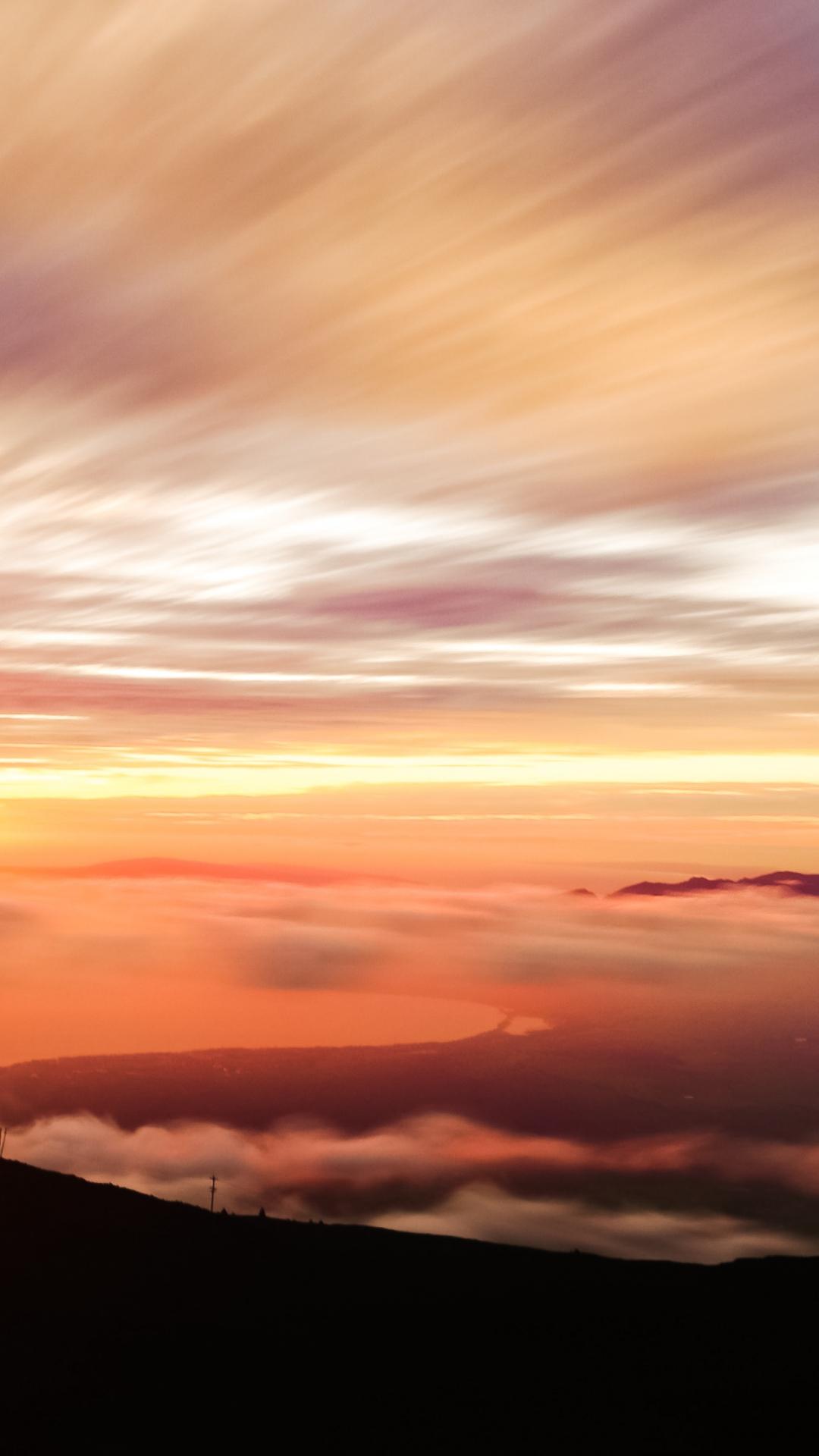 Vibrant Sunset iPhone Wallpaper