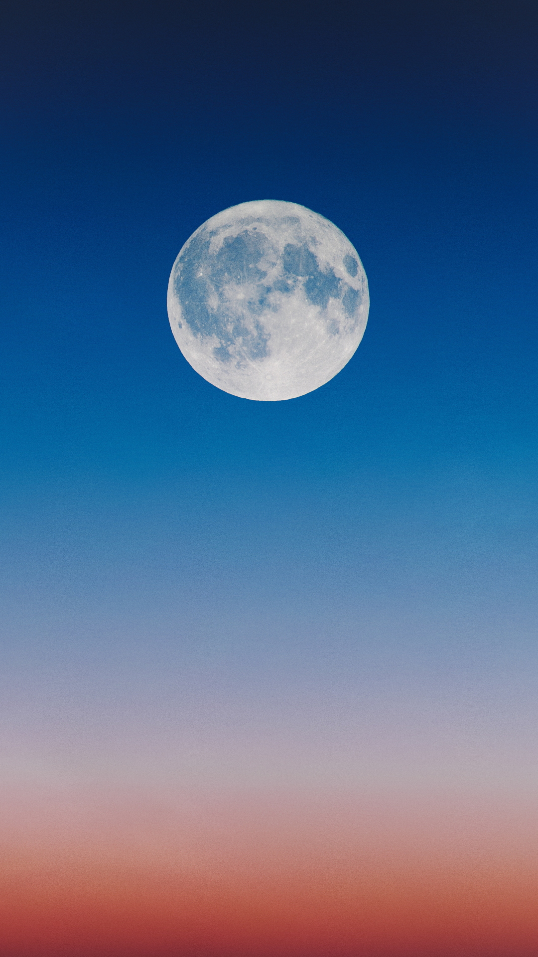 Sunset Moon iPhone Wallpaper