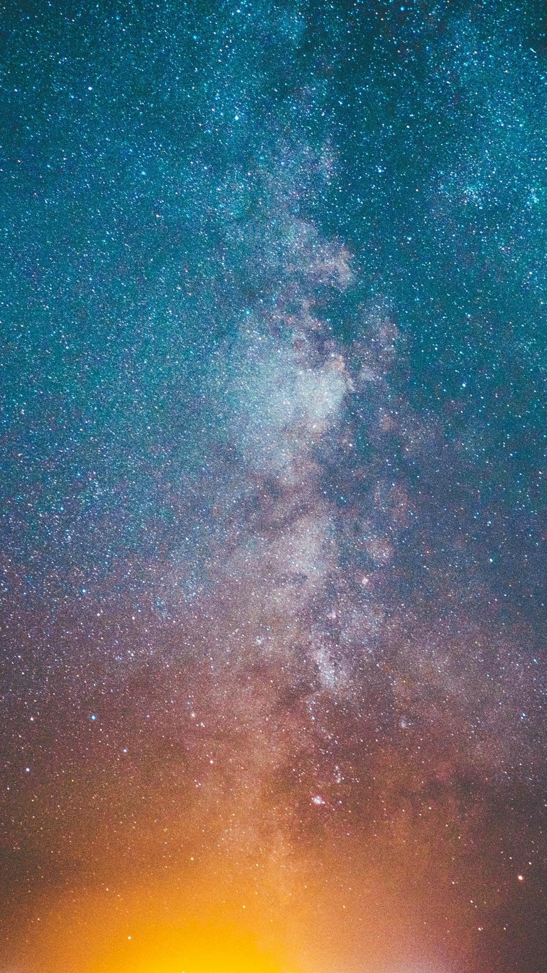 Milky Way iPhone Wallpaper