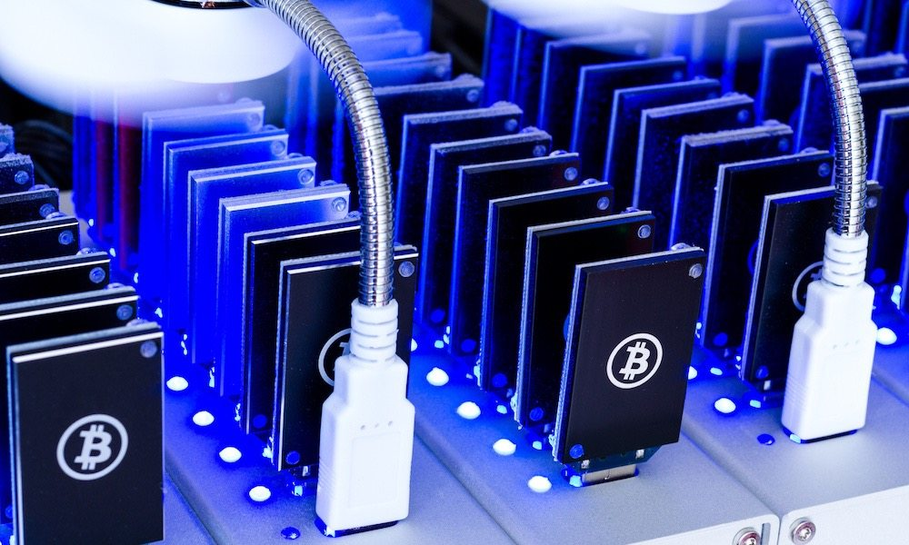 Samsung is making chips for cryptocurrency mining