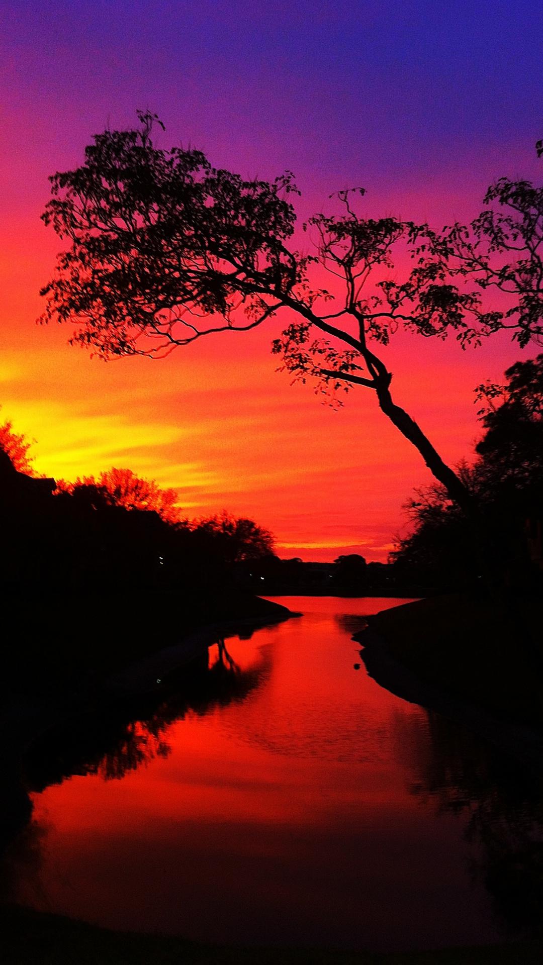 Florida Sunset iPhone Wallpaper