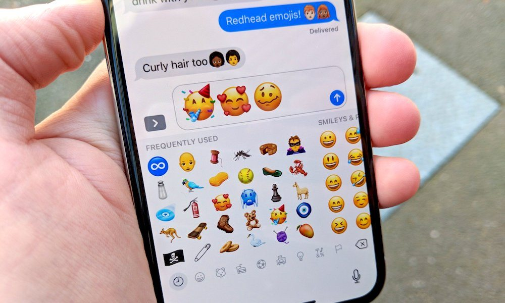 Emojis: New list includes a redhead at last