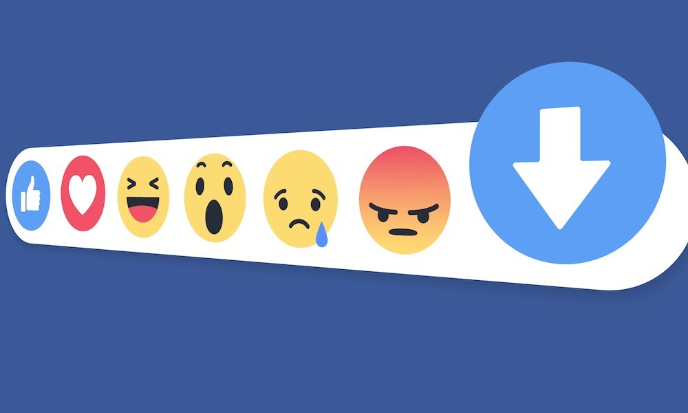 Facebook Is Testing a 'Downvote Button' (But Don't Call It a Dislike Button)