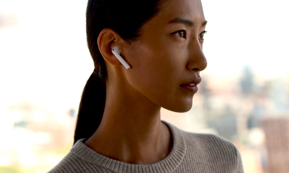 Wearing-AirPods