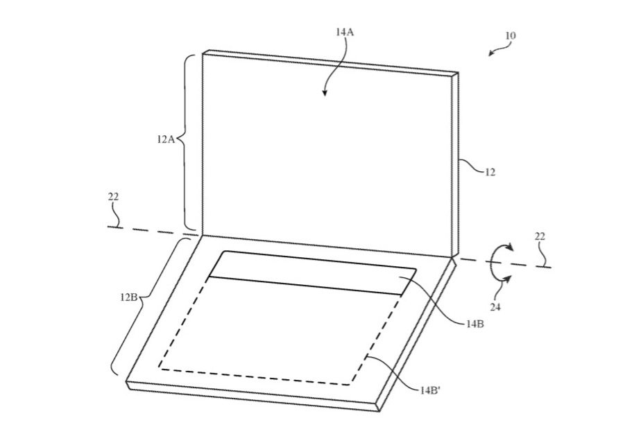 Apple Dual Display Patent Number 9904502
